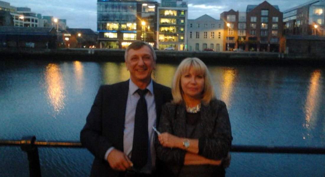 Enterprise architect from Ukraine transports his family from Donetsk to Dublin