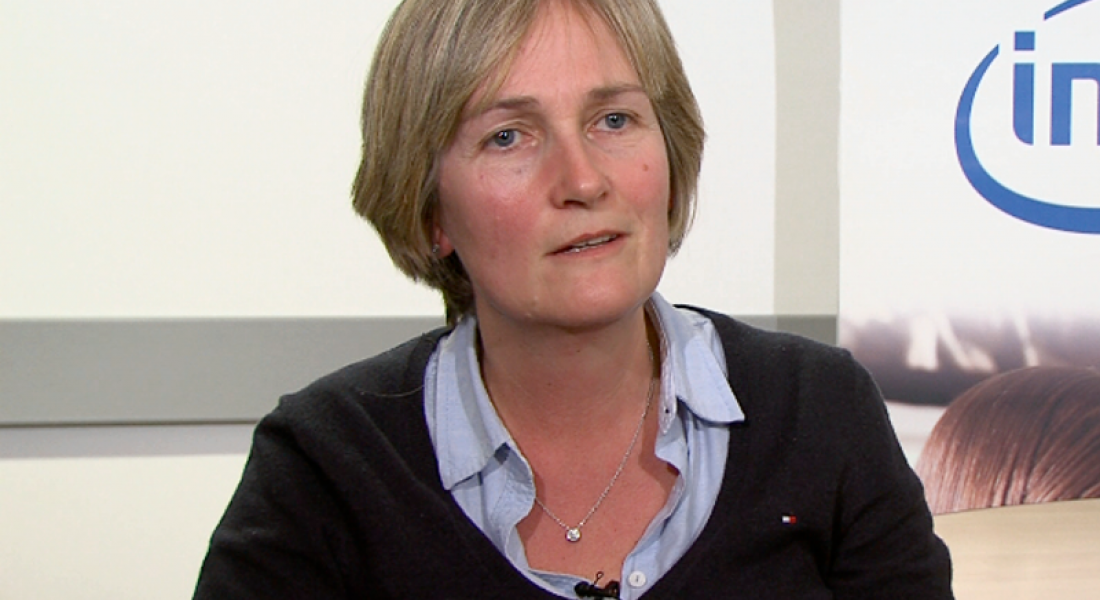 Intel's Ann-Marie Holmes describes world of possibility for women in engineering (video)