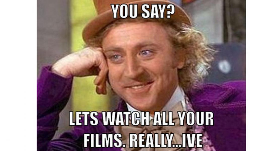 Career memes of the week: filmmaker