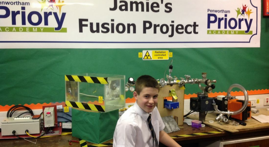 13-year-old student builds a working nuclear reactor