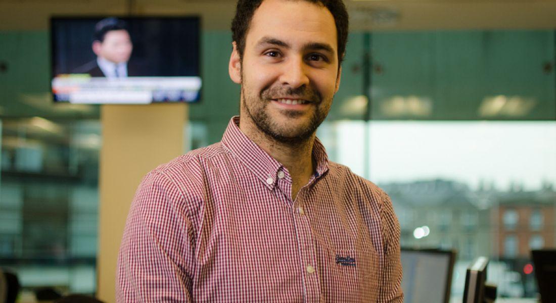 Software developer from Spain settles down in rainy Dublin
