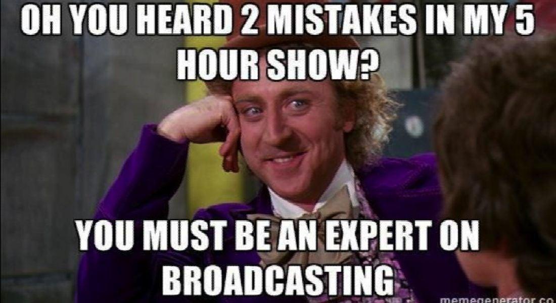 Career memes of the week: broadcaster