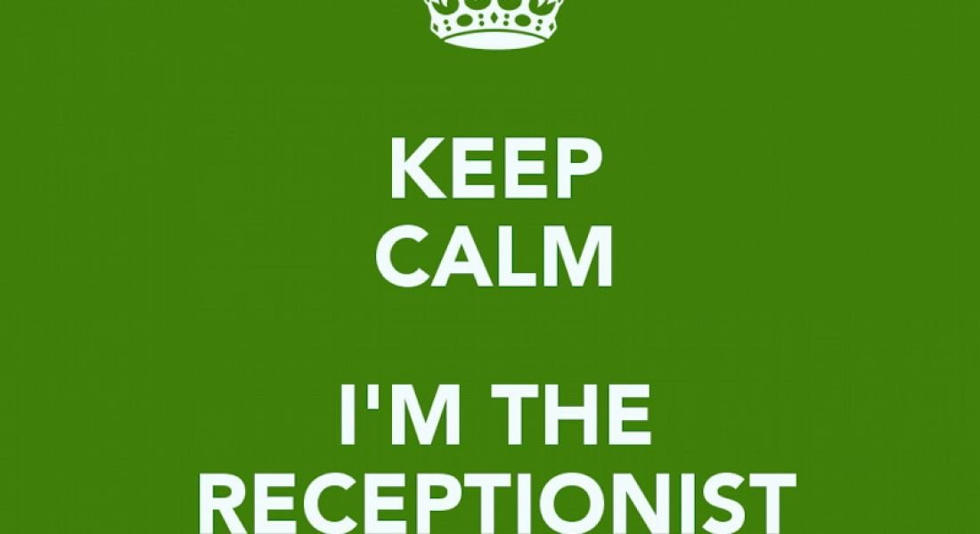 Career memes of the week: receptionist