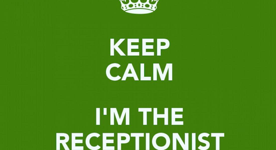 Career memes of the week: receptionist