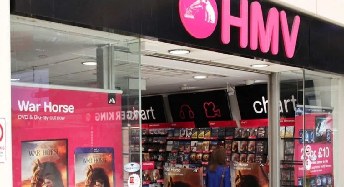 New HMV store in Galway to generate 25 jobs