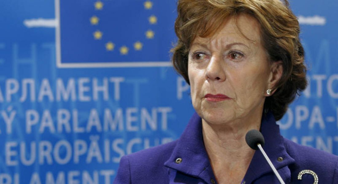 Neelie Kroes advocates 'girl power' in tech with video message for Girls in ICT Day
