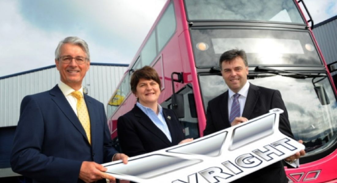 Bus builder Wrights Group to create 130 jobs in Co Antrim