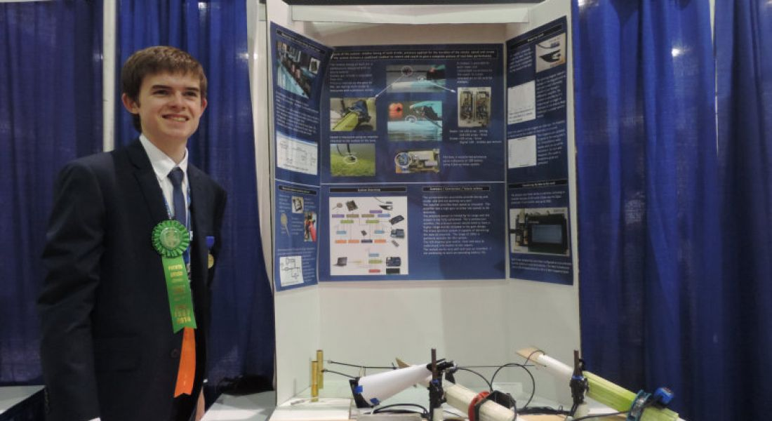 Three Irish students pick up awards at world's largest school science competition