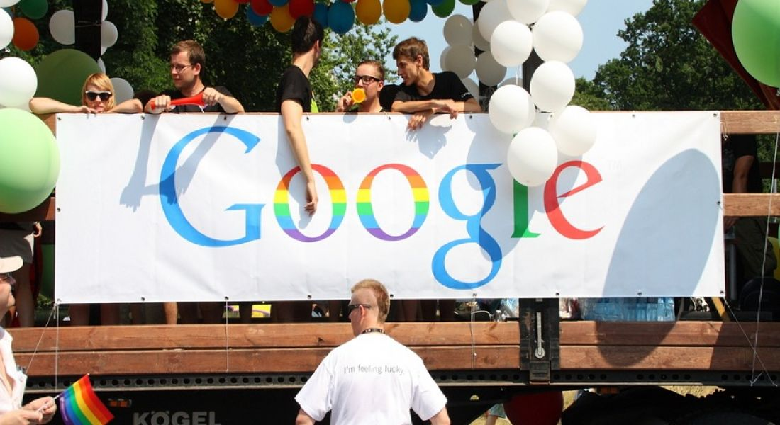 Google to release minority hiring figures after protest outside HQ