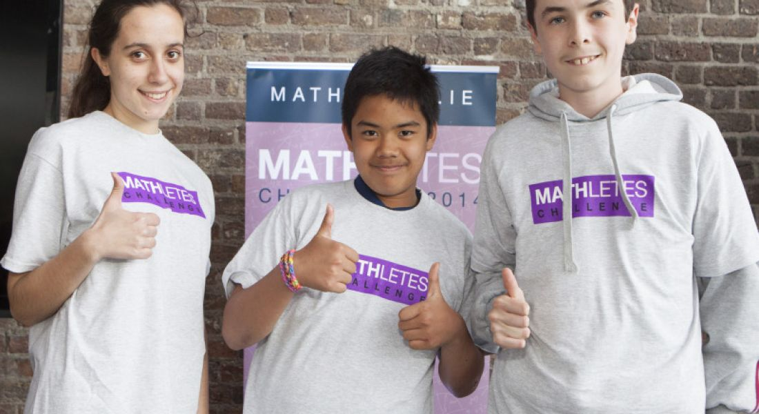 Winners emerge from 3,000-strong MATHletes challenge