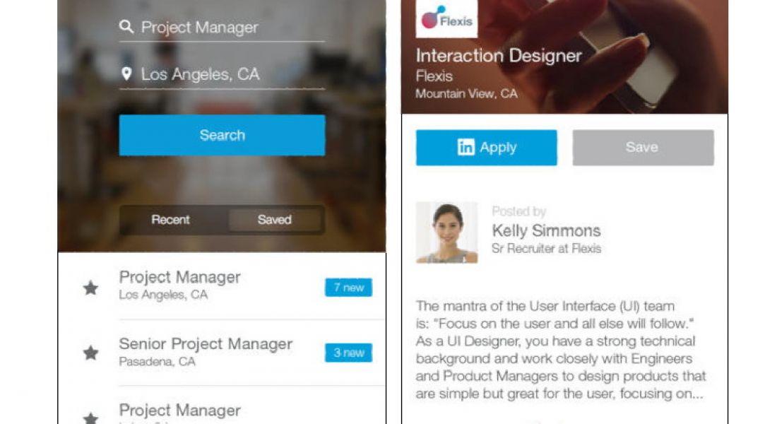 LinkedIn unleashes free job search iOS app