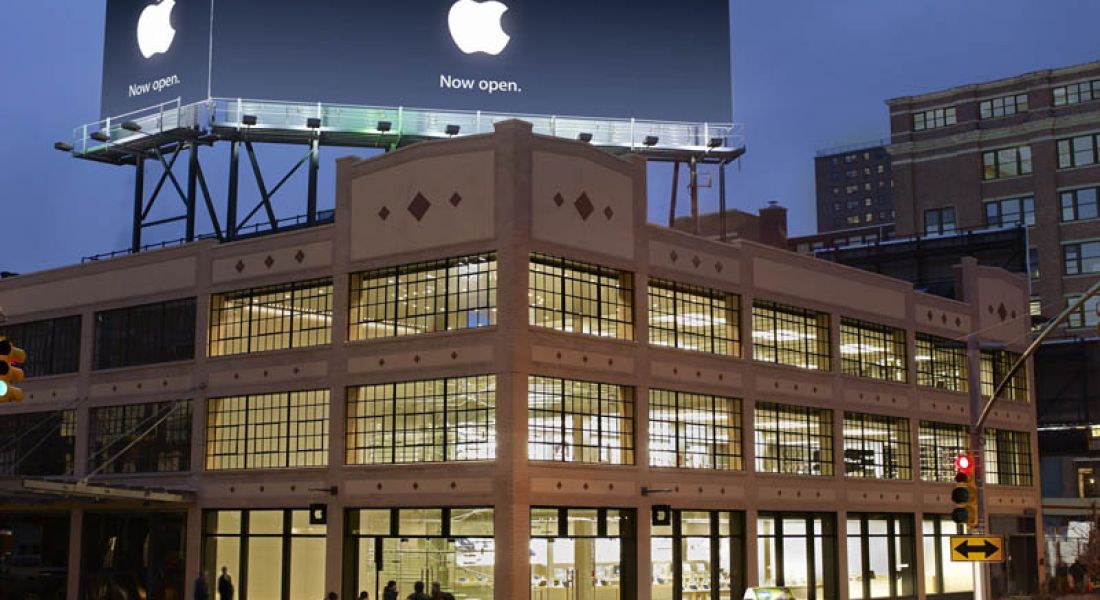 Apple's diversity report also shows white male dominance