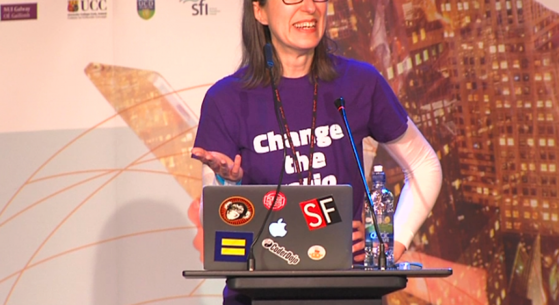 Girls Hack Ireland: Today's young women are inspired to shape the future (video)