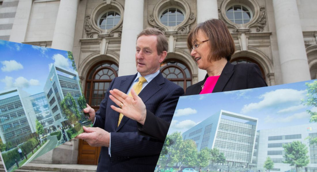 150 construction jobs for new €134m Microsoft campus in Dublin