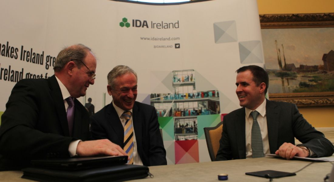 2014 has been a bumper year for IDA Ireland (video)