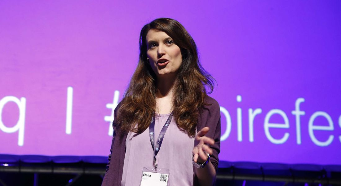 Gender gap in science narrowing, Inspirefest attendees hear