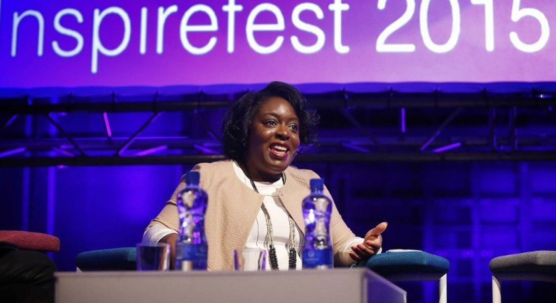 Kimberly Bryant: 'We want to introduce 1m girls to coding by 2040' (video)