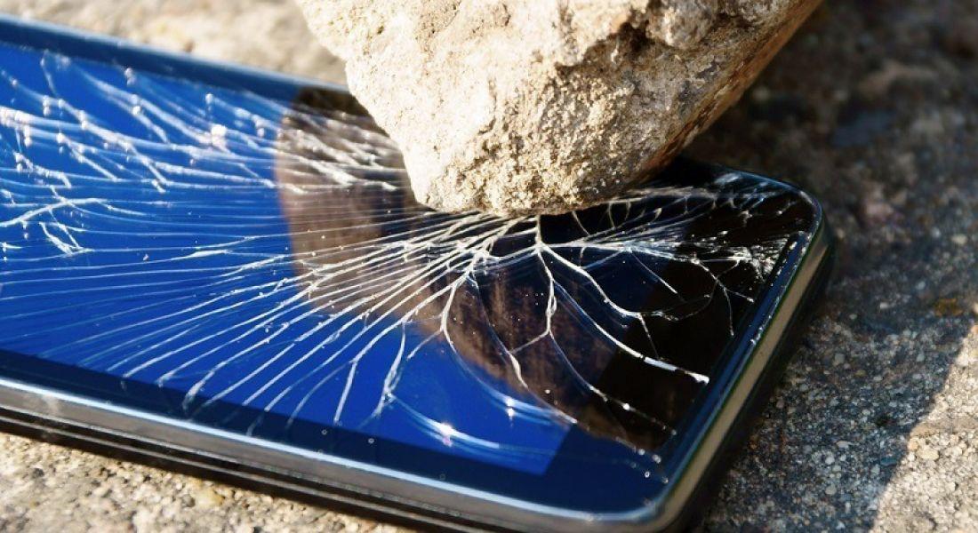 Mobile phone destruction tester