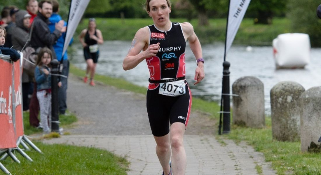 Susanna Murphy, Dropbox, on track for triathlon success