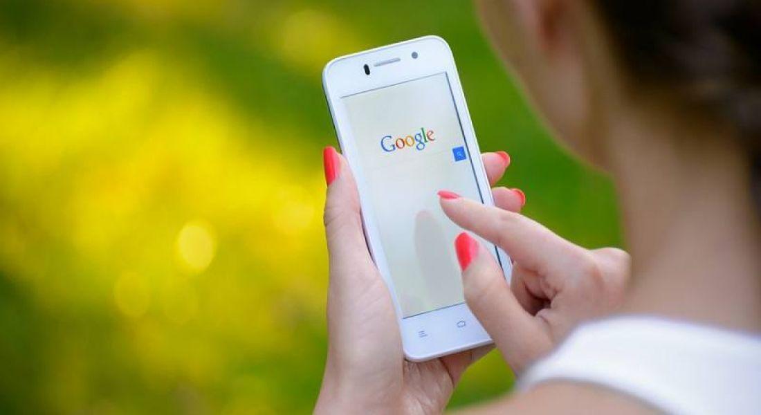 Woman on Google