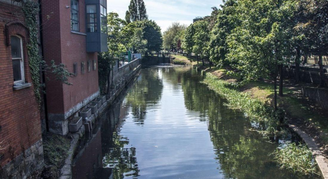 Jobs: View of Grand Canal from Baggot St Bridge, Ballsbridge