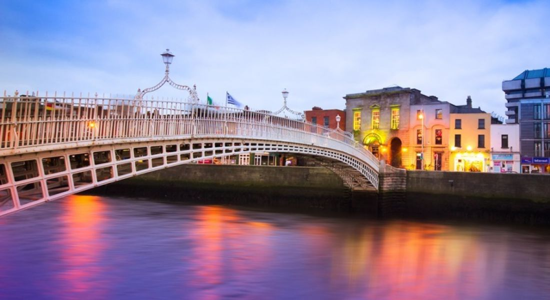 Feelsright is expanding its Dublin workforce. Pictured: Dublin quays and the Ha'penny Bridge