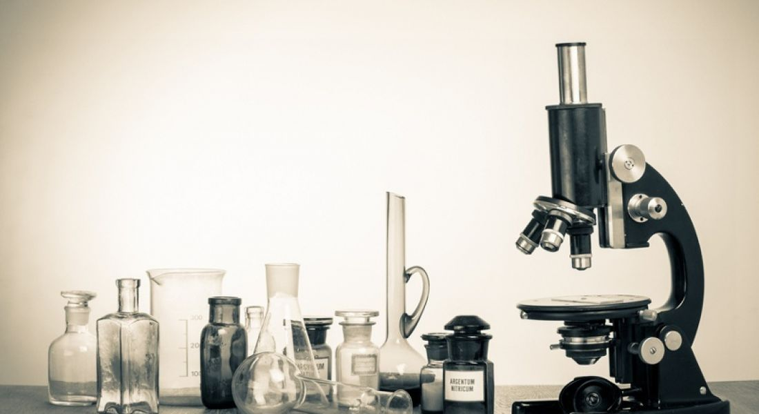 Google Science Fair: microscope and vials