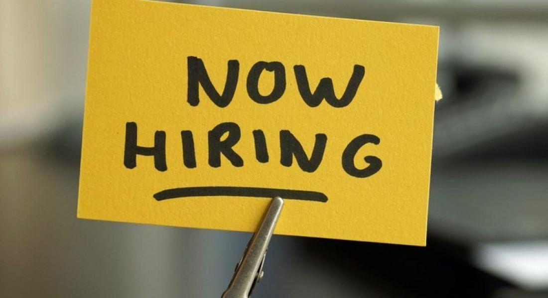Fintech: now hiring sign