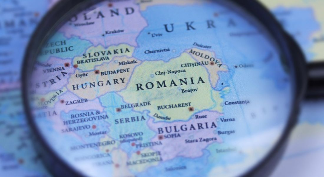 Tech talent: map of Eastern Europe under magnifying lens