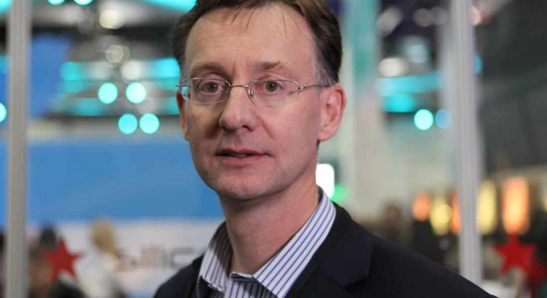 Leo McAdams, Divisional Manager for Software and International Services with Enterprise Ireland