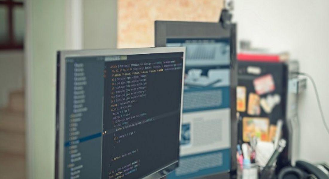 CGM: desktop computer running code
