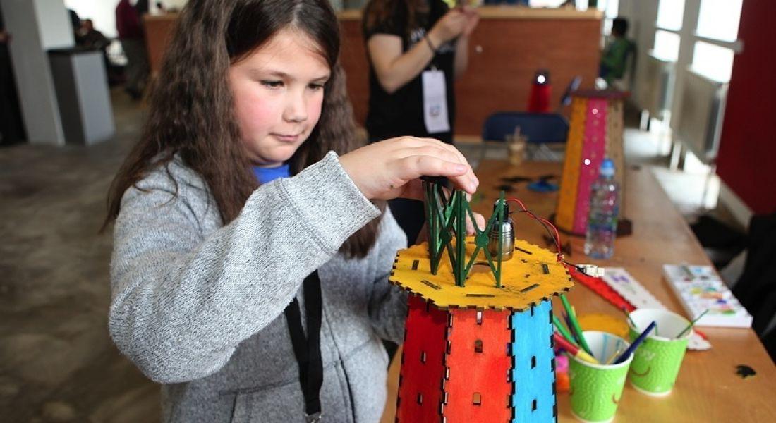 Coder girls get creative at Girls Hack Ireland event