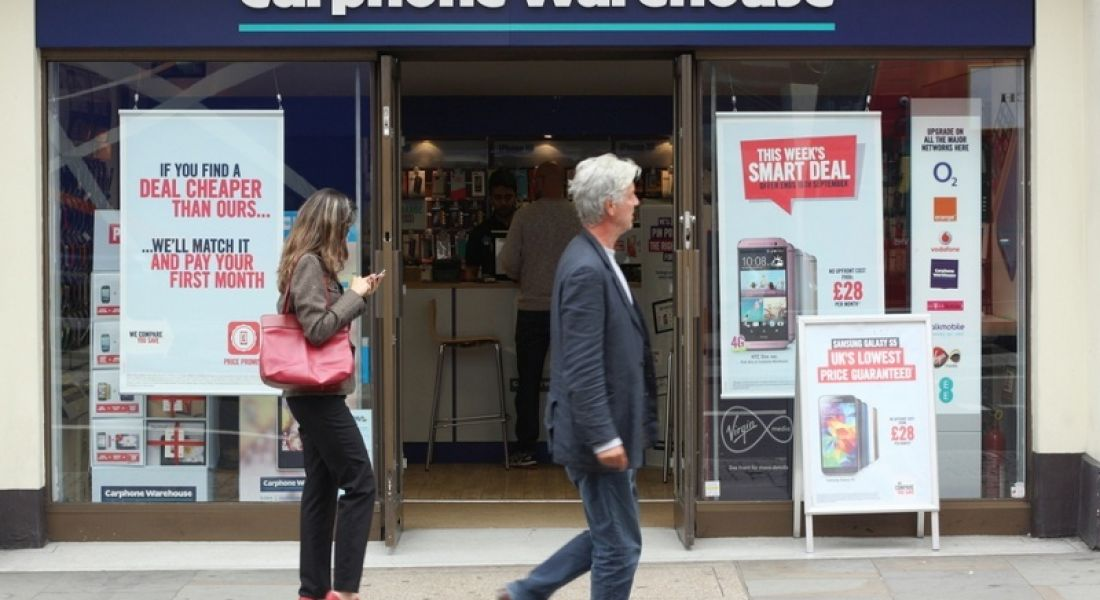 Dixons Carphone to create 220 jobs for Christmas sales season