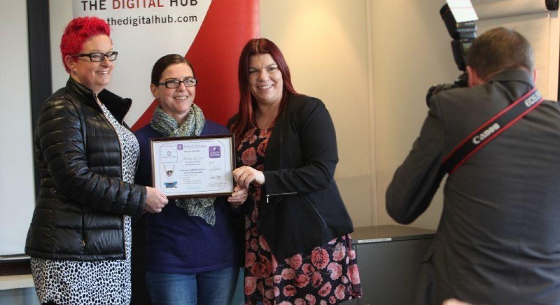 13 Dublin mums graduate from first Digital Hub Techmums programme
