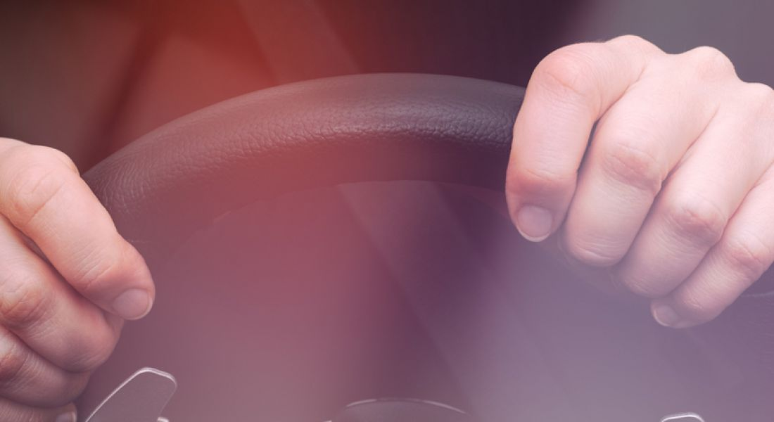 IoT: hands on steering wheel