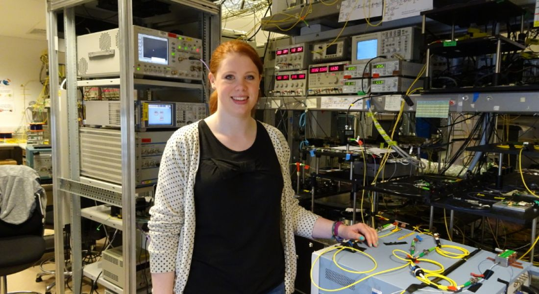 Ghostbusters: Niamh Kavanagh, photonics PhD student at the Irish Photonic Integration Centre (IPIC), Tyndall National Institute
