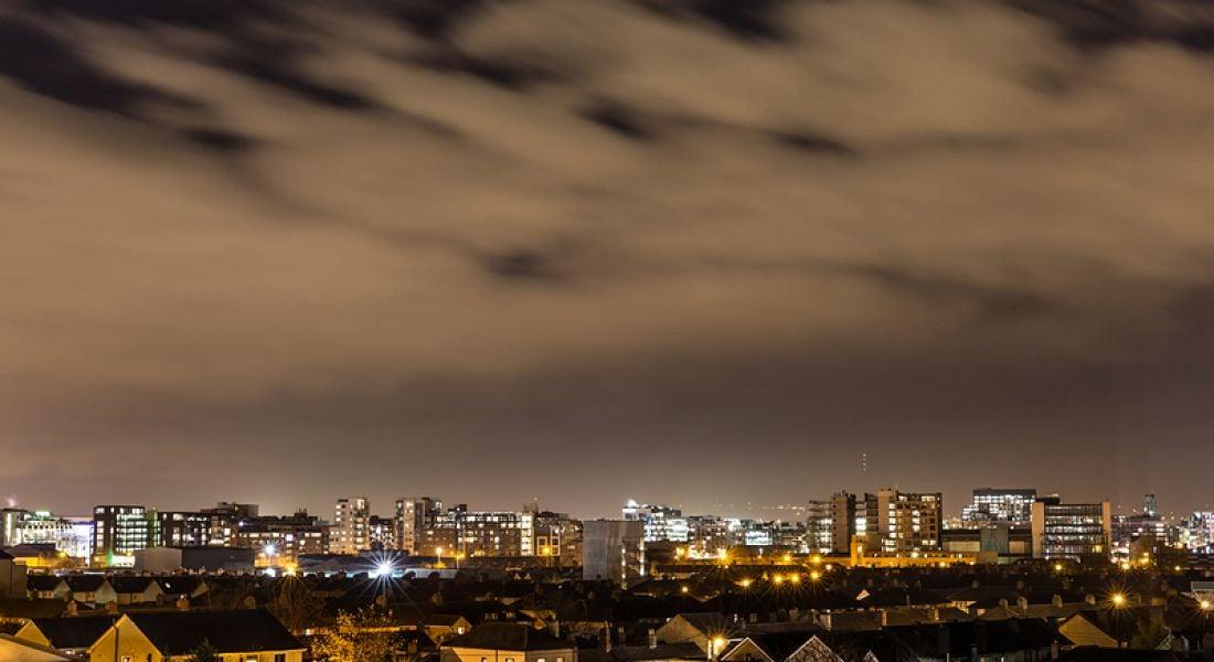 PTC: Dublin smart city skyline
