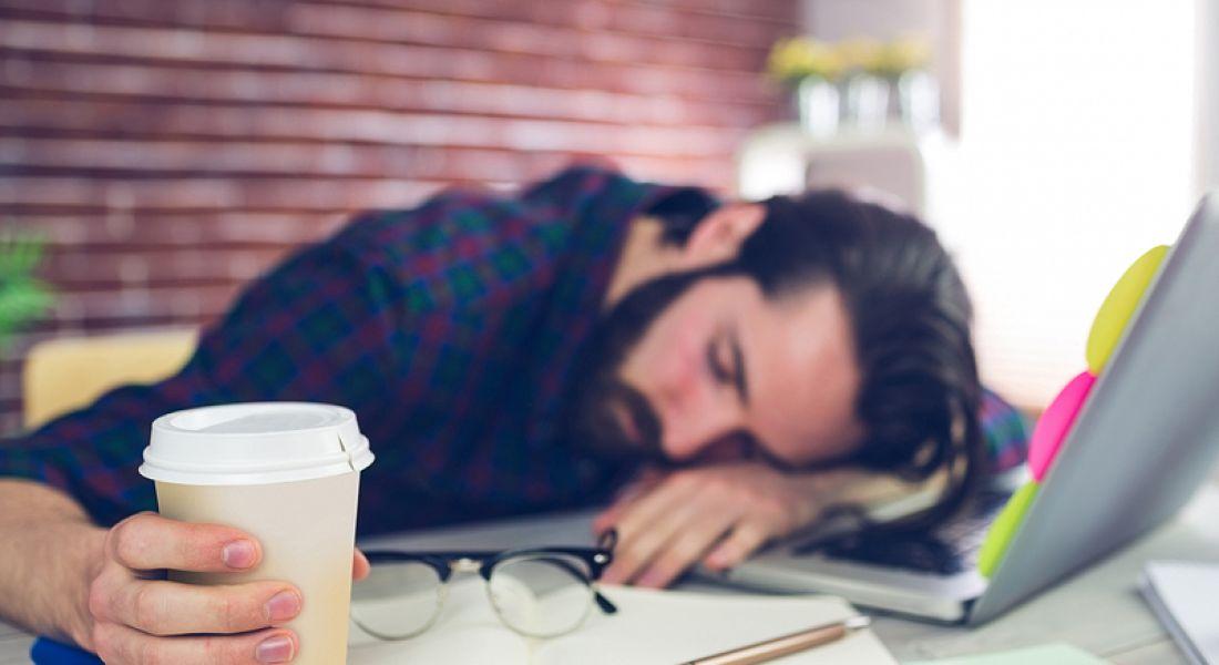 Dream job: dreamer asleep on the job