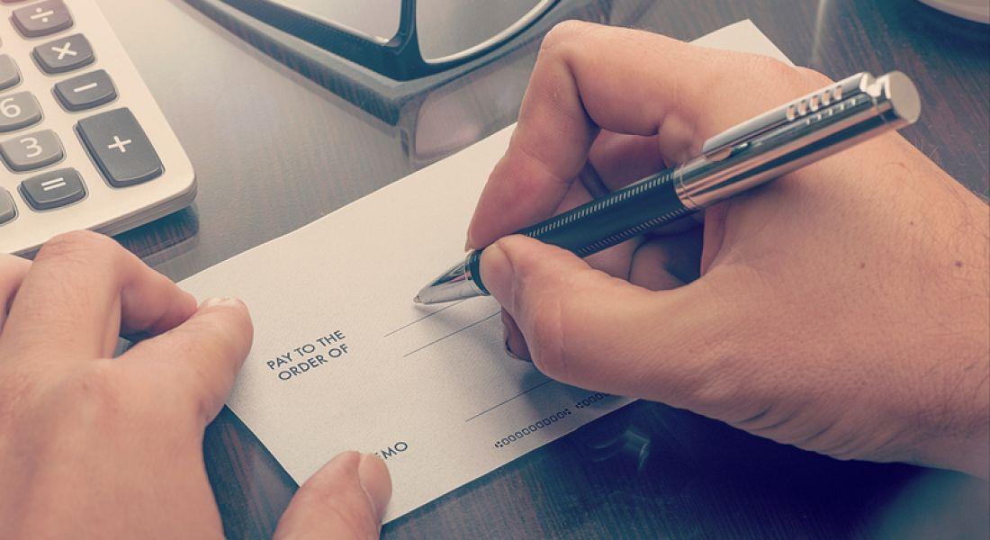 Highest paid jobs in Ireland cheque