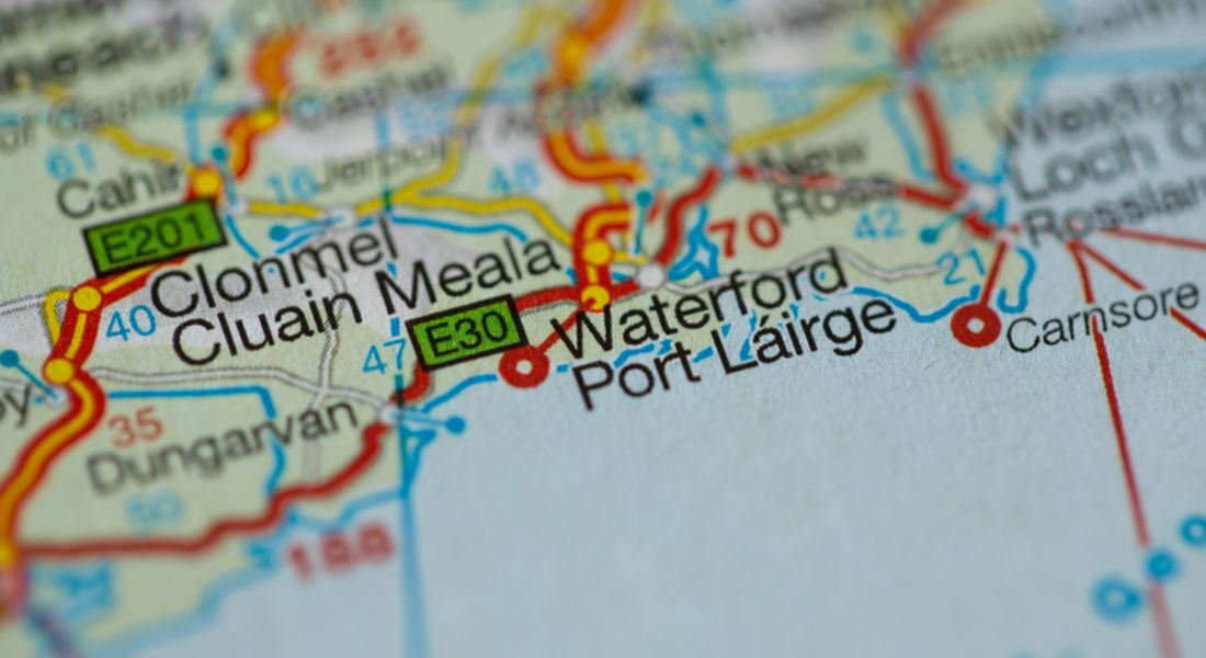Jobs: Waterford map