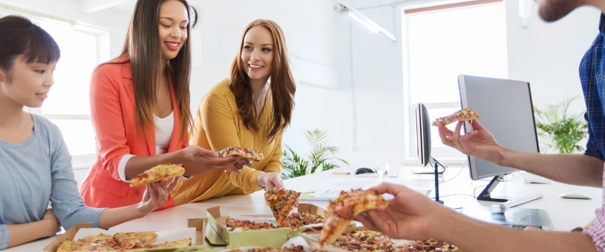 Pay us in pizza! How a few slices can motivate an entire team