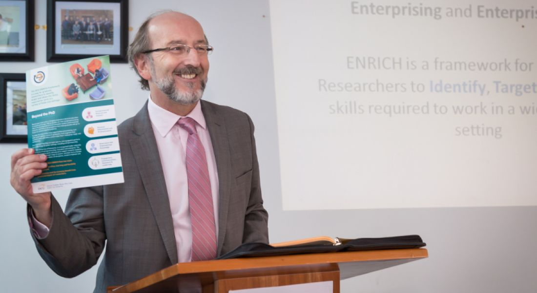 DCU launches Enrich framework for graduate students to build skills