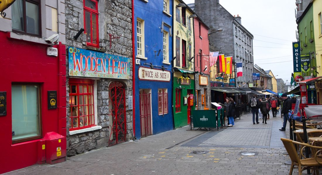 MathWorks: Galway city streetscape