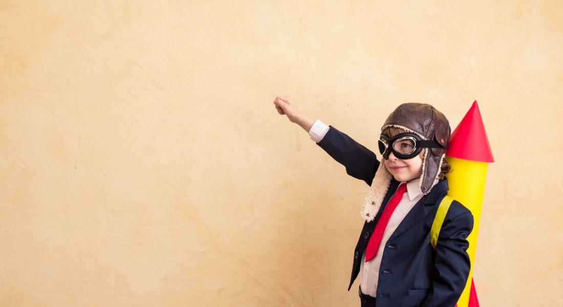 Kid getting jobs boost thanks to rocket