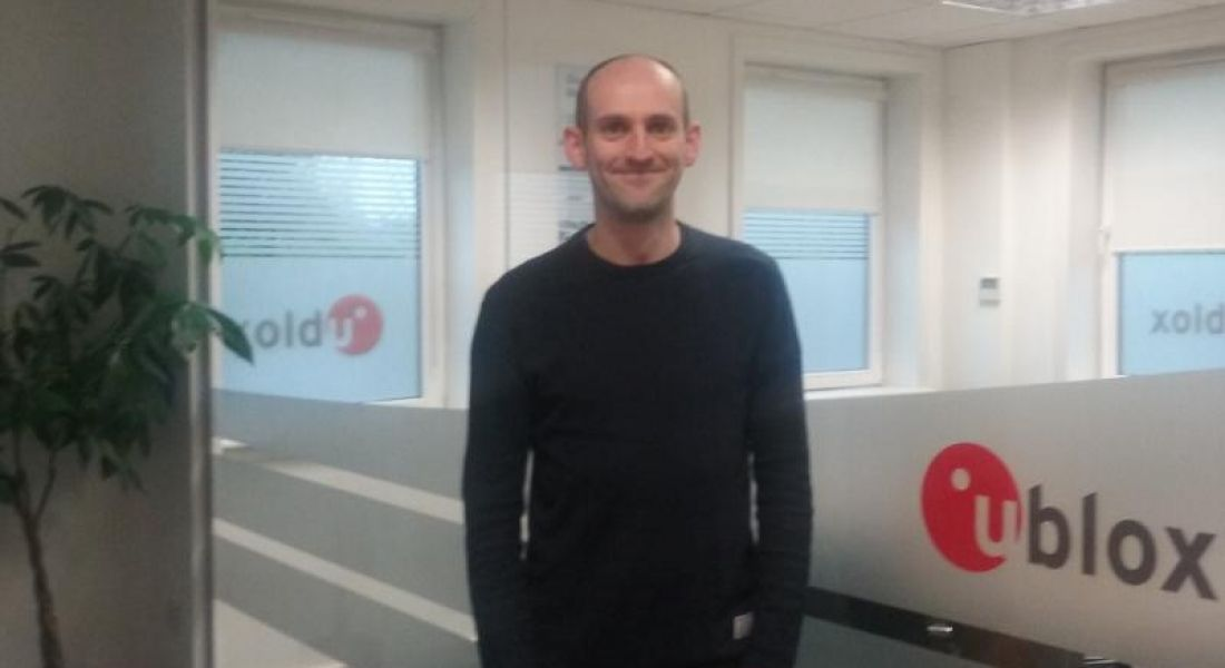 Padraig Ryan, digital design engineer at U-blox, Cork