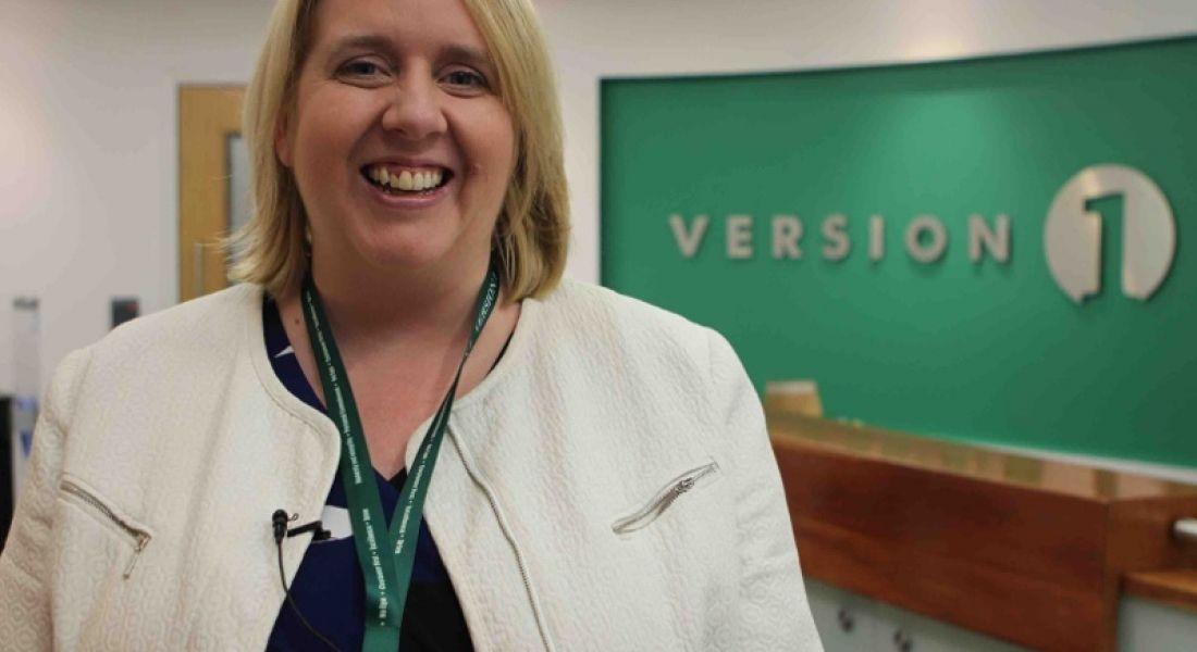 Jennifer Dolan, HR and engagement manager, Version 1