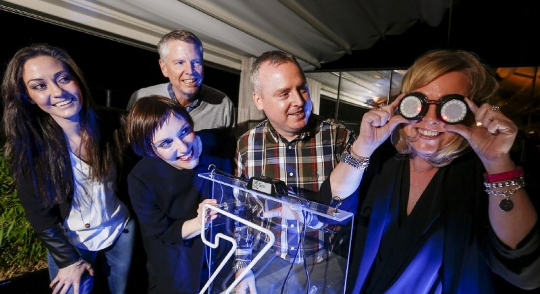 Career Zoo launch, l-r Selcan Sengul (Etsy), Jackie Slattery (Director of Career Zoo), Casey Roberts and Wes Brien (New Relic), Tara Hayes (Etsy)