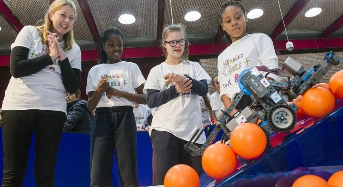 Winners of Cork EMC VEX Robotics finals announced