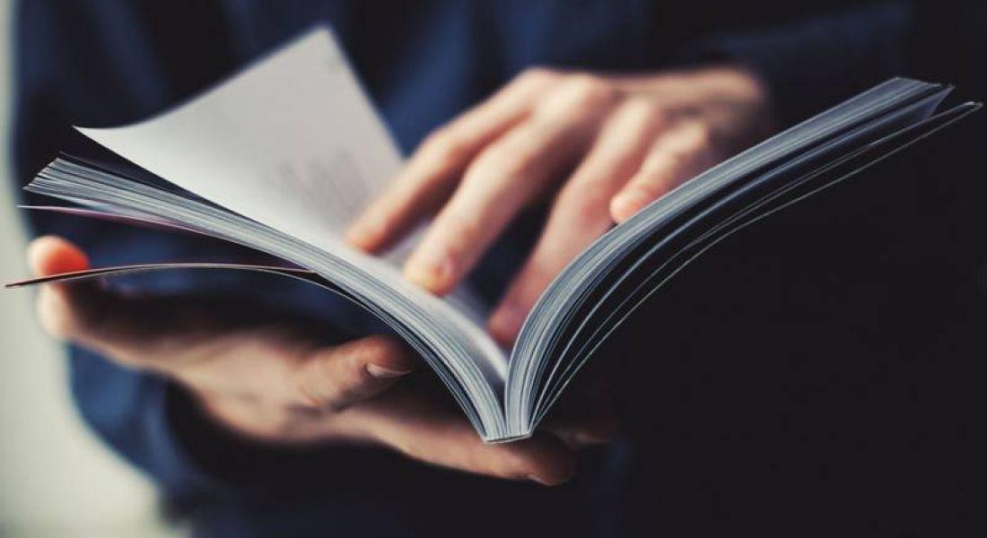 STEM jobs: person reading manual