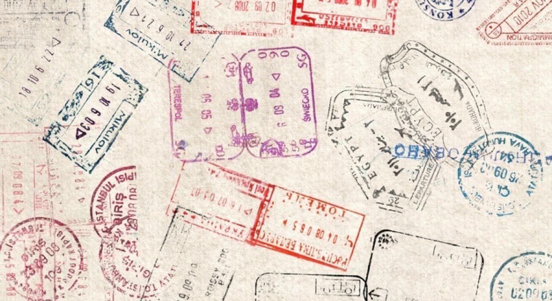 Irish SMEs: visa page in passport